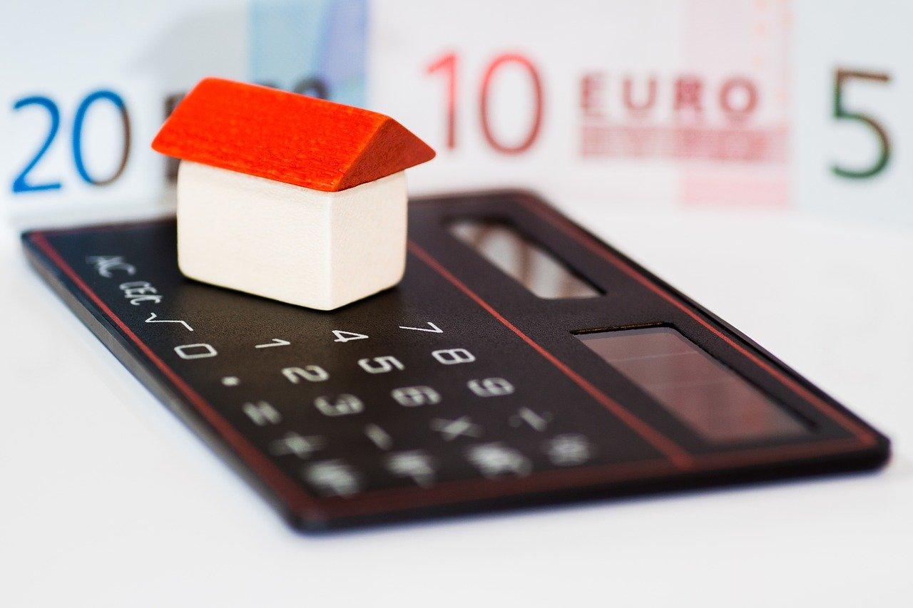 house, money, euro
